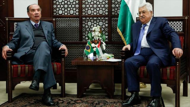Palestina y Brasil abogan por estrechar lazos bilaterales