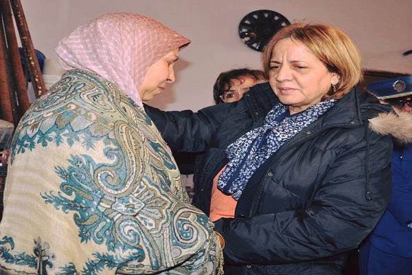 وزيرة التضامن في زيارة عمل وتفقد لتفقد قطاعها  بالشلف