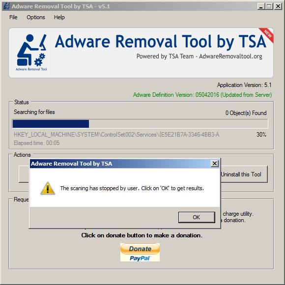 حذف التطبيقات الضارة الموجودة على الكمبيوتر مع ADWARE REMOVAL TOOL