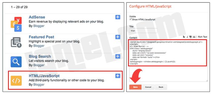 Bagaimana Memasang Iklan AdSense di Blogspot Bagi Pemula