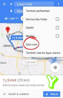 Cara setting google maps