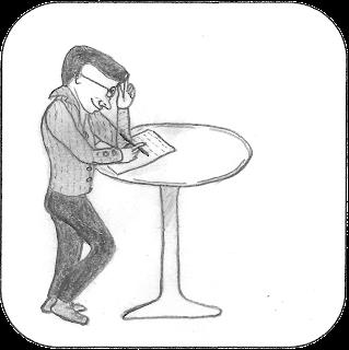 Alain Fonteneau, dessin de l'auteur