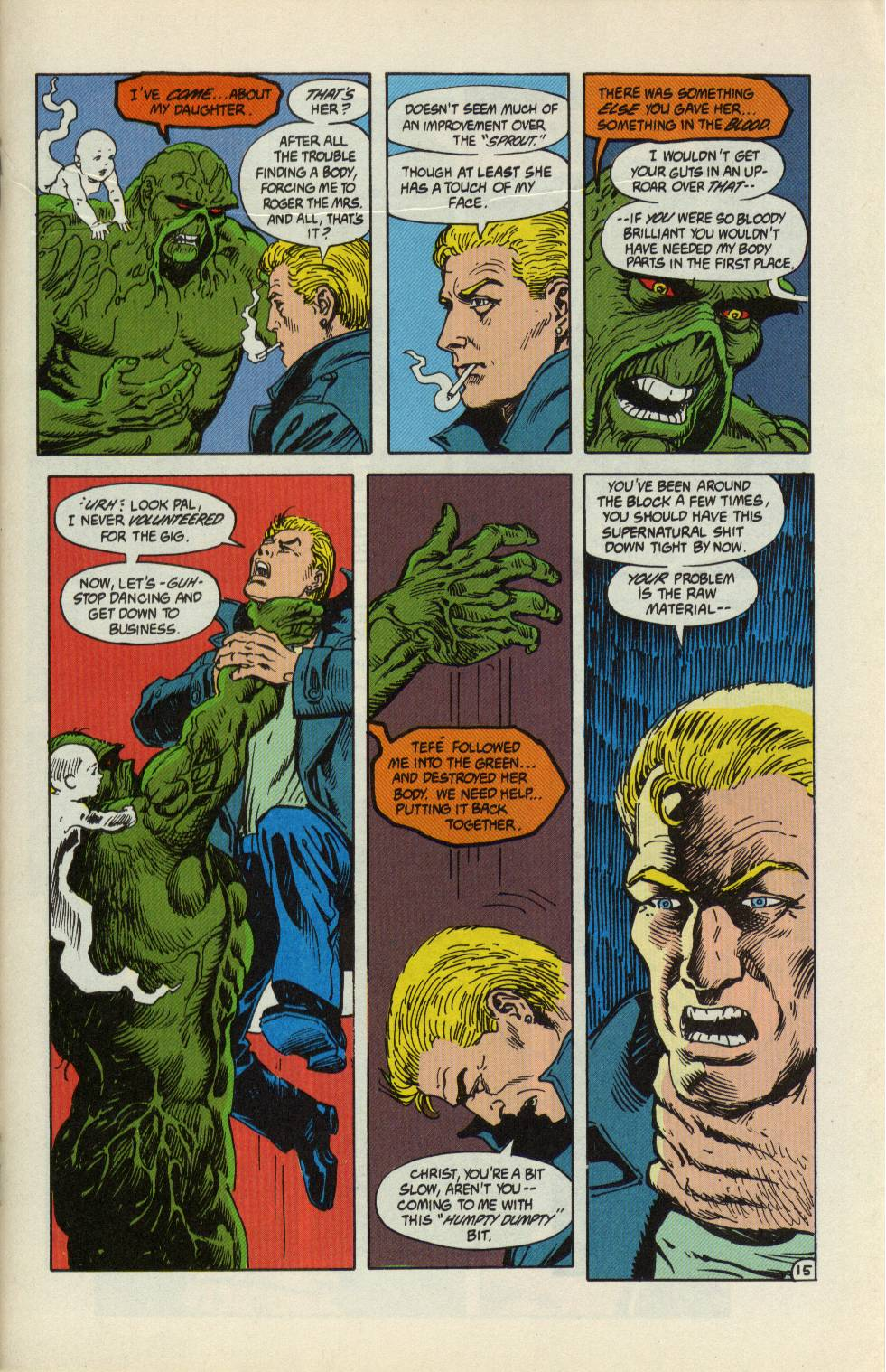 Swamp Thing (1982) Issue #99 #107 - English 16