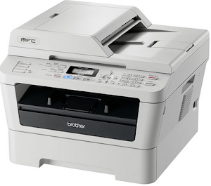 Mfc-7360n mono laser all-in-one + fax, network | home or small.