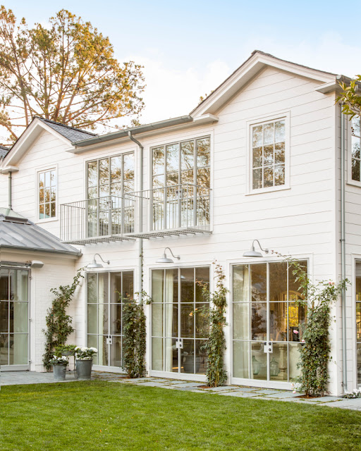 image result for traditional modern farmhouse exterior California renovation Giannetti