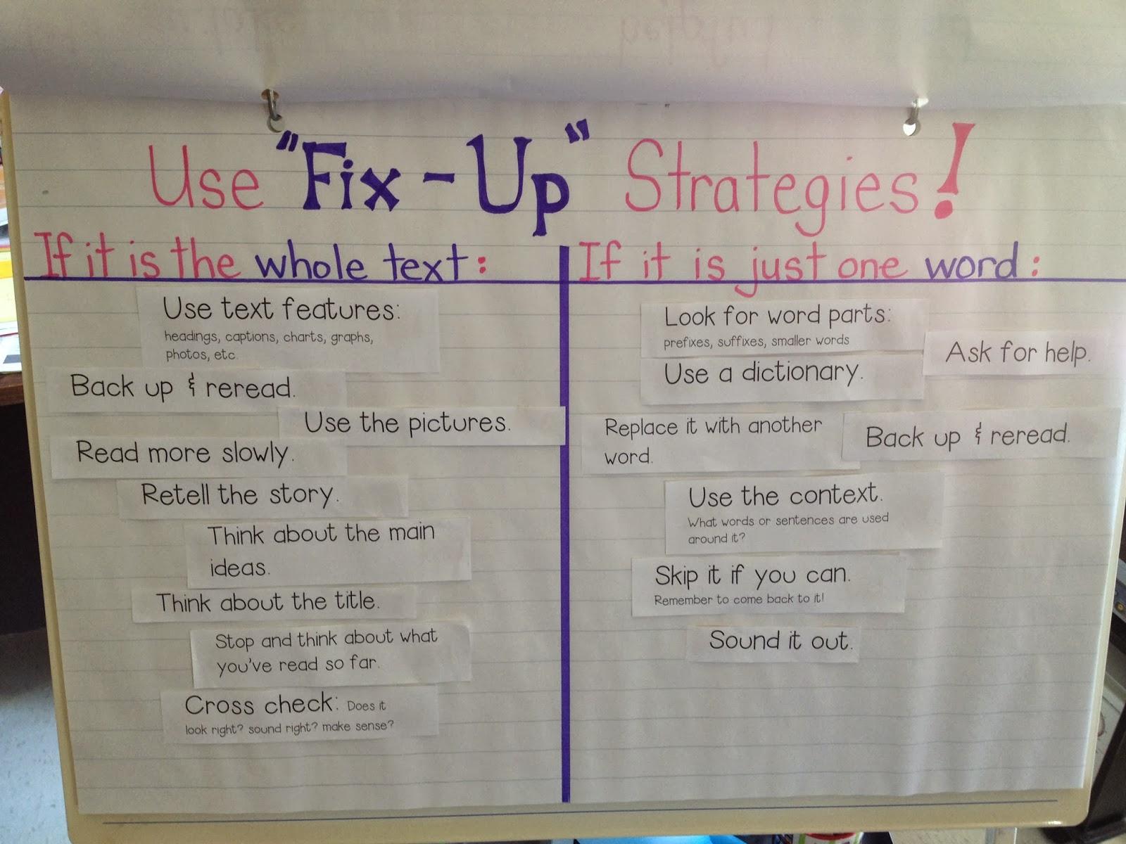 Fix Up Strategies