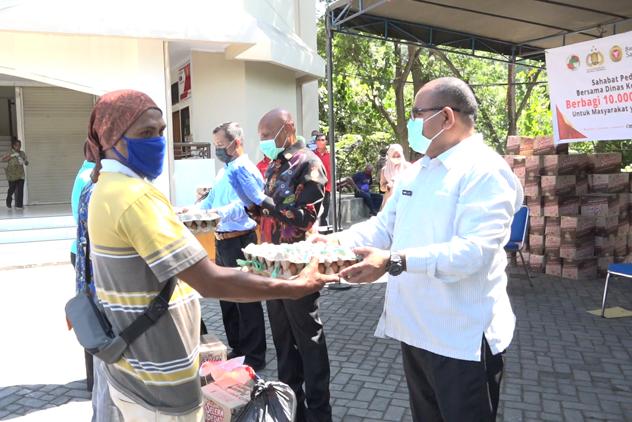 Benhur Tomi Mano Ungkap Pemkot Jayapura Tetap Salurkan Bantuan Sembako ke Warga