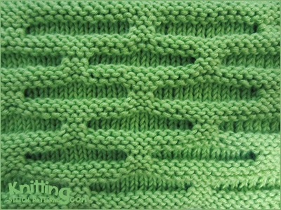 The Honeycomb stitch is a super easy and fast knit. This stitch uses only knit and purl stitches and slip stitch purlwise.