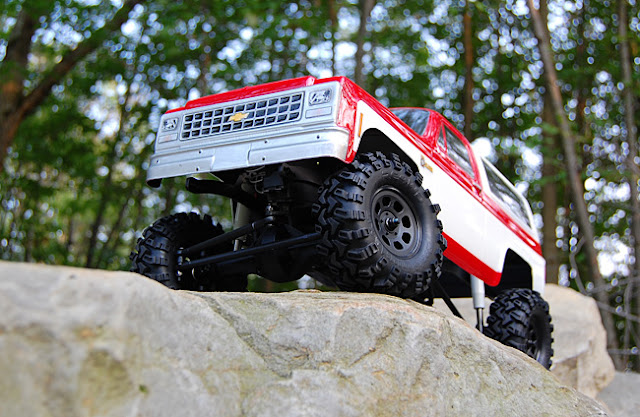 Axial AX10 scale truck conversion