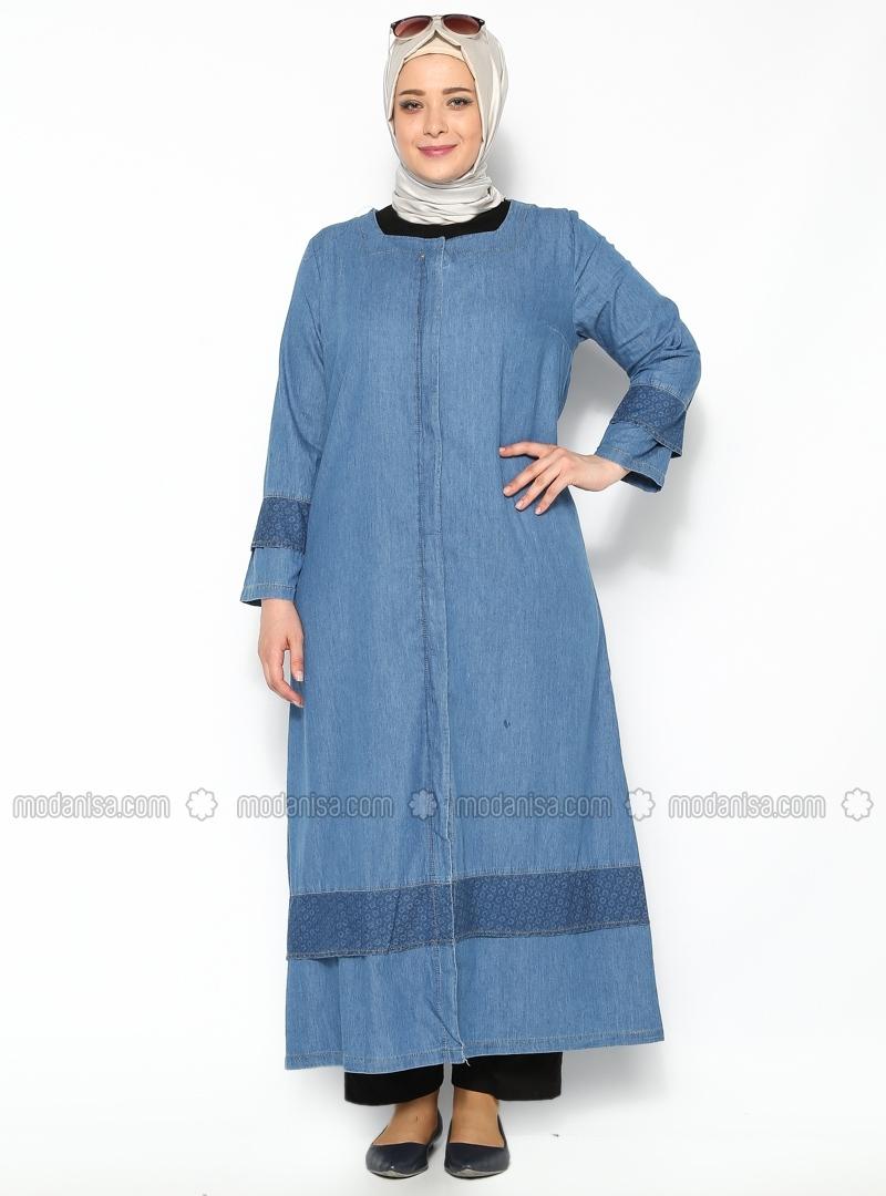 21 Contoh Model Busana Muslim Untuk Wanita Gemuk Terbaru