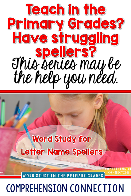 Letter Name Spellers are typically in kindergarten to second grade. In this post, you'll learn how to match the LN speller's needs.