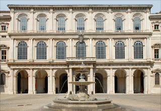 The Palazzo Barberini was completed by Gian Lorenzo Bernini