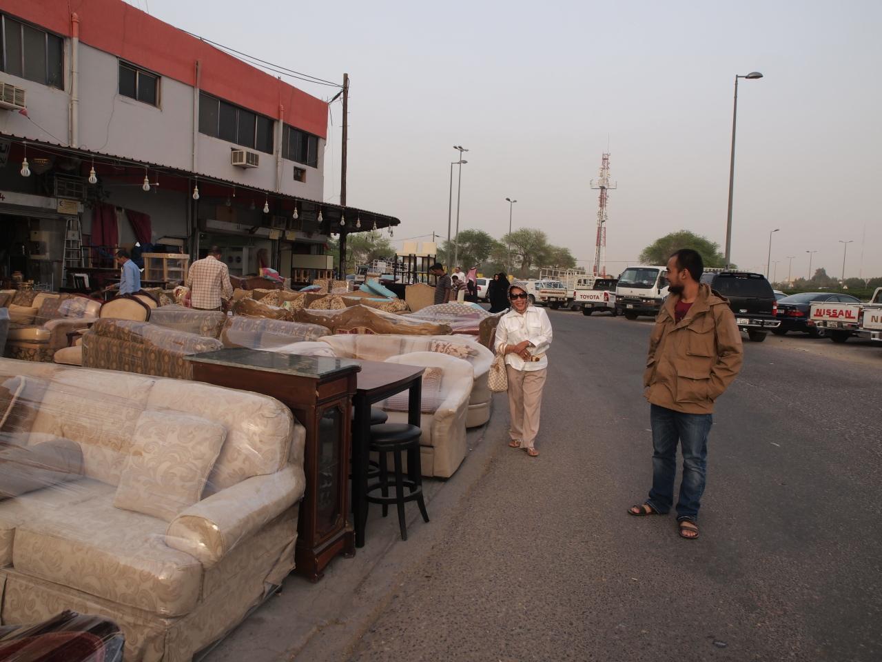Jokowi Terkenal Di Pasar Furniture Bekas Al Rai Kuwait
