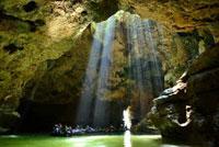 Goa pindul adalah destinasi wisata alam di gunungkidul