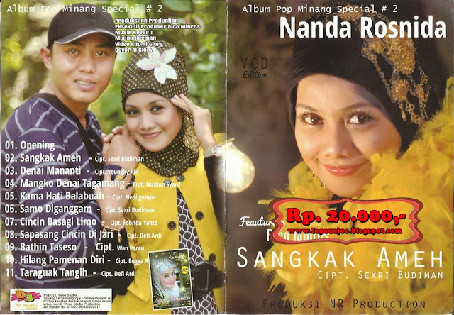 Nanda Rosnida - Sangkak Ameh (Album Pop Minang Special Vol 2)