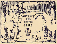 A card for the Arctic Eagle, Christmas 1903.