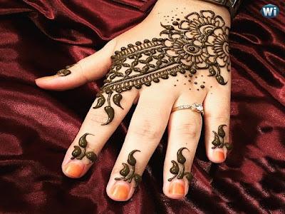 Mehansi Design For Bridal