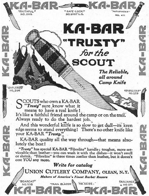 Faktoider: Ka-Bar, björnkniven (?)