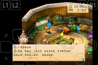 Rahasia Harvest Moon Back to Nature