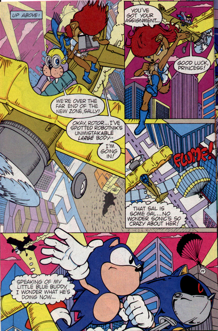 Read online Sonic The Hedgehog comic -  Issue #25 - 21