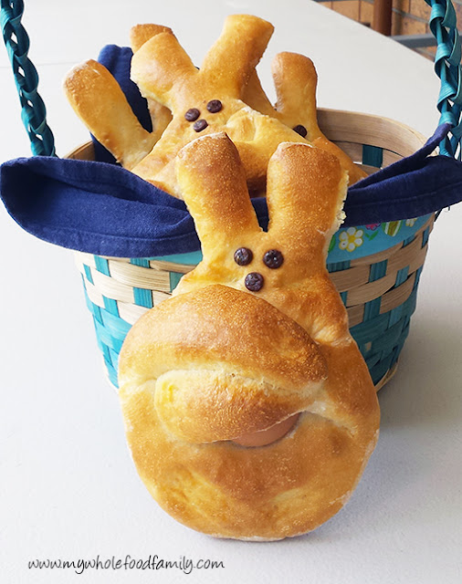 How to make Dutch Easter Bunny Bread from www.mywholefoodfamily.com