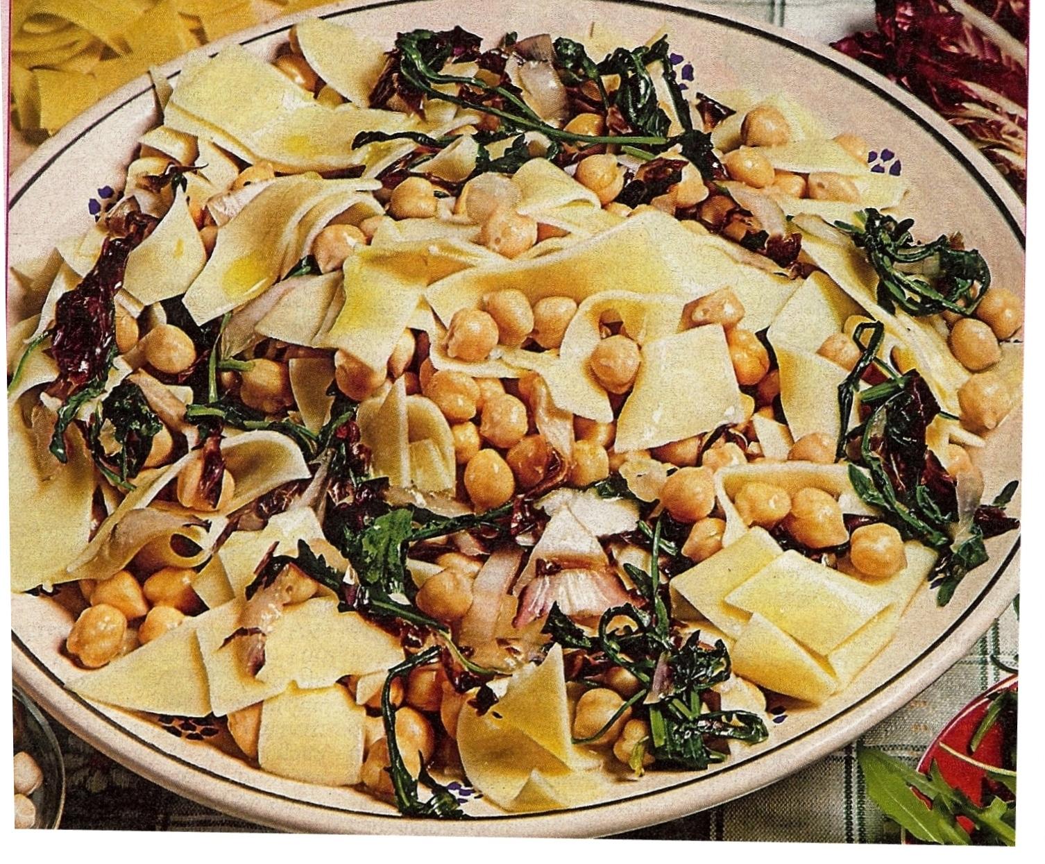 LA CASA E IL GIARDINO: Fresh Pasta With Chickpeas And