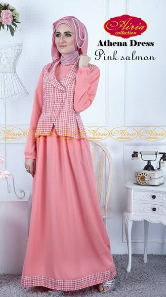 Baju Muslim Gamis Wanita Elegan Untuk Pesta Terbaru