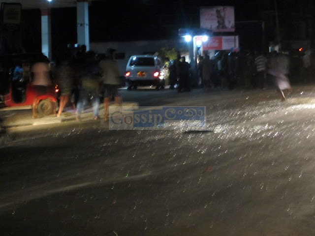 Bus fire in alawwa