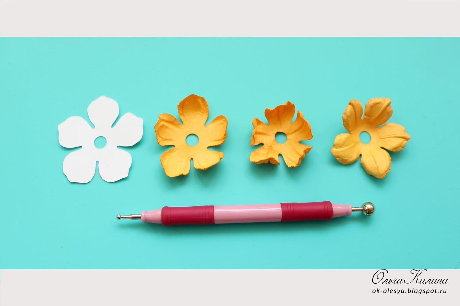 Заготовка для цветка 21