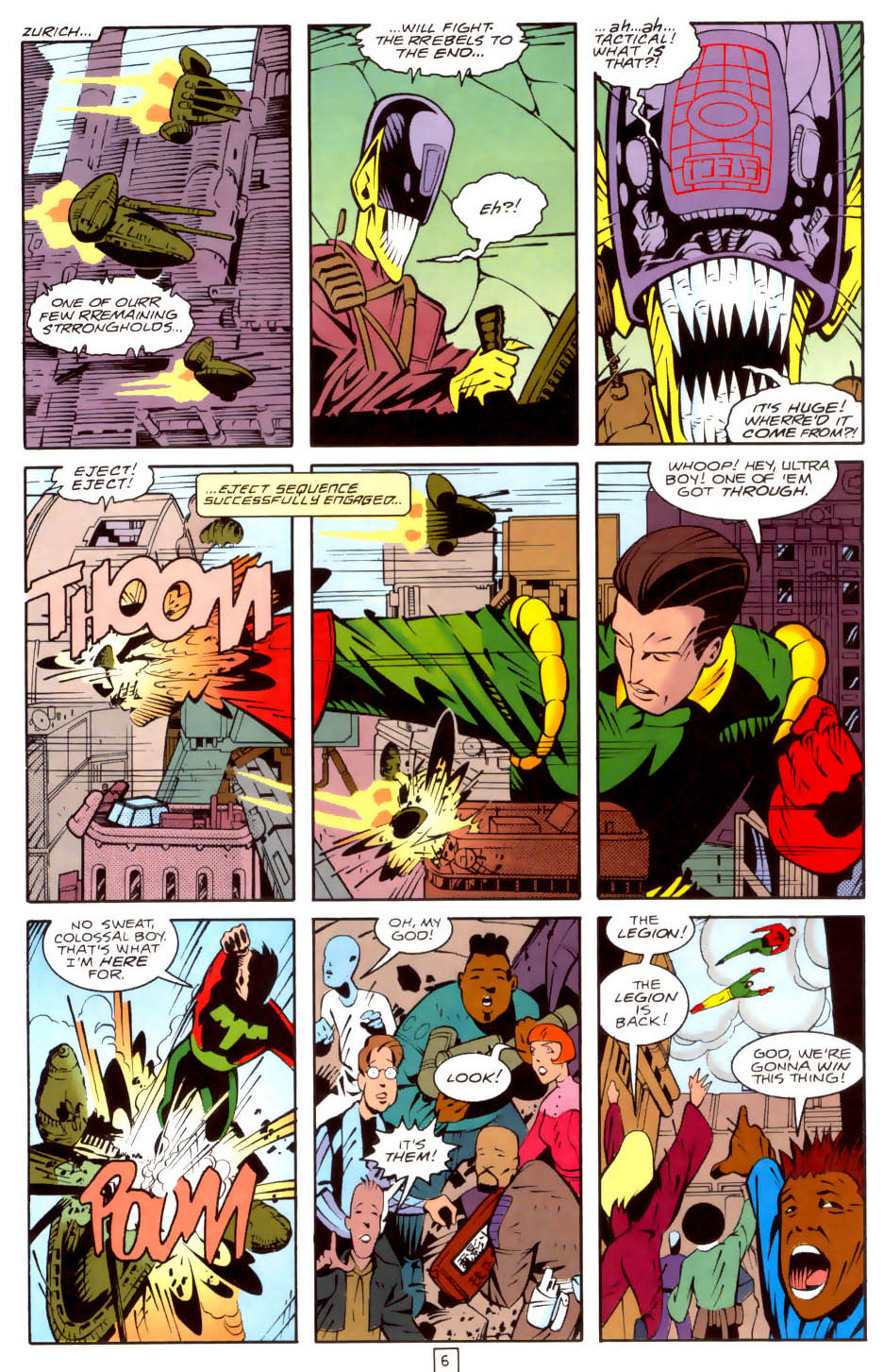 Legion of Super-Heroes (1989) 35 Page 6