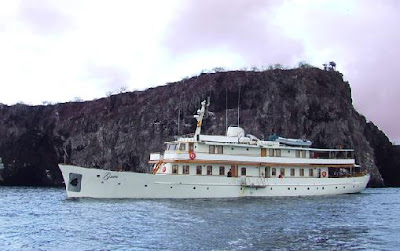 Galápagos Yates de lujo Yate Grace