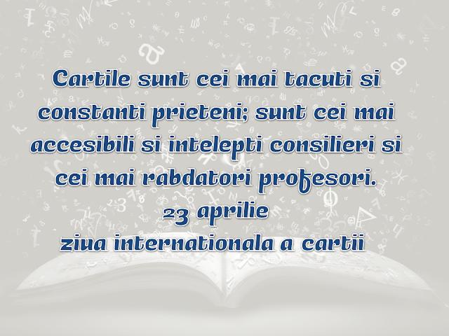 Ziua internațională a Cărții - Cum să culturalizăm România -