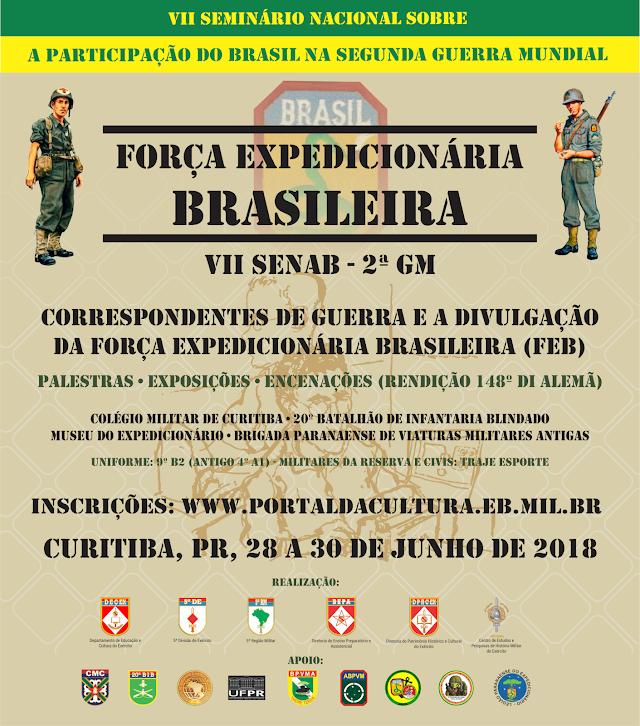 VII Seminário nacional sobre a participação do Brasil na Segunda Guerra Mundial