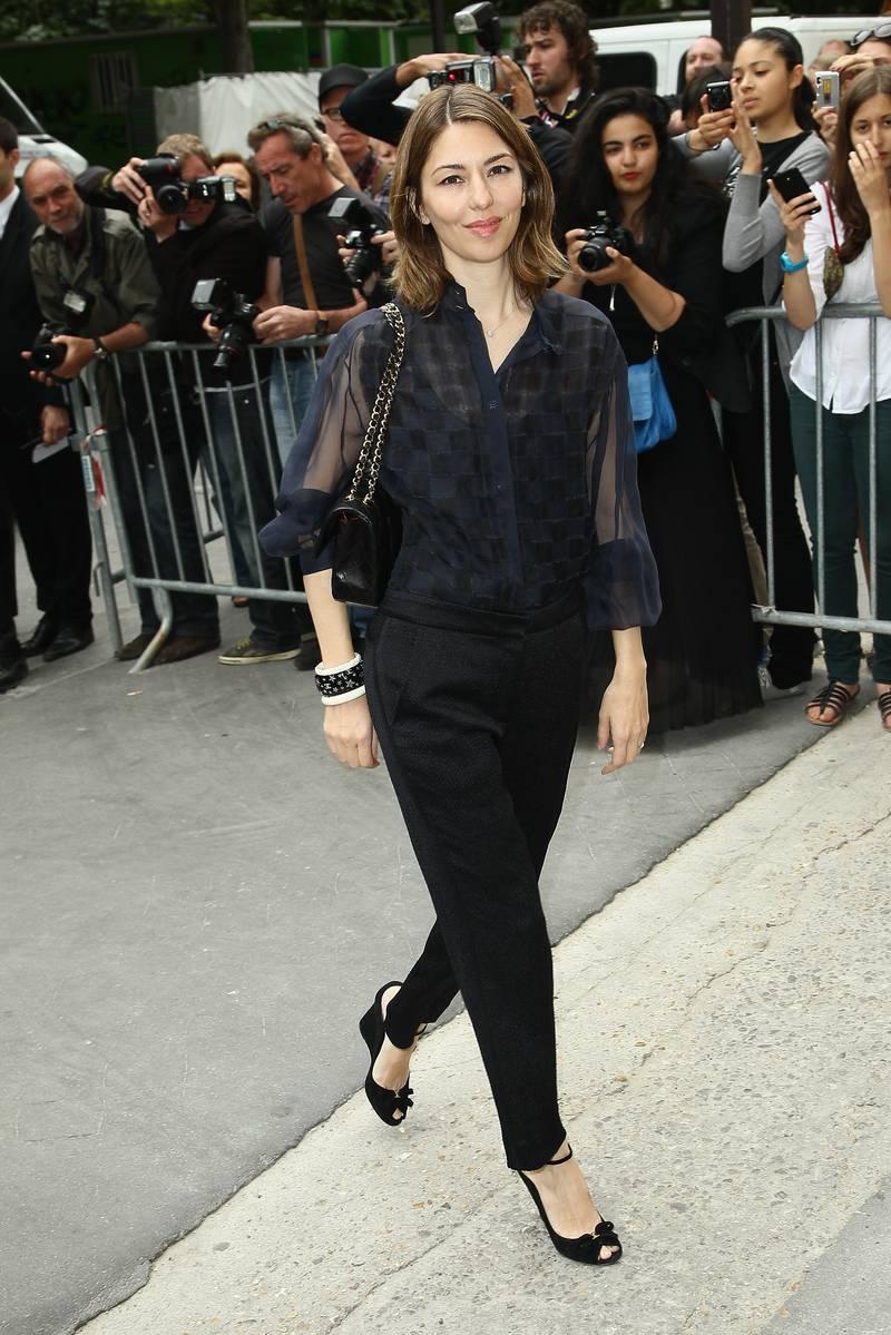 Sofia Coppola's Minimalist Style | MY SMALL WARDROBE  Sofia Coppola&#...