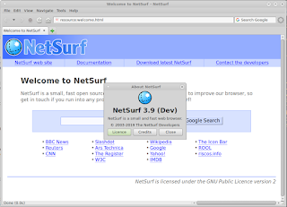 NetSurf Development build