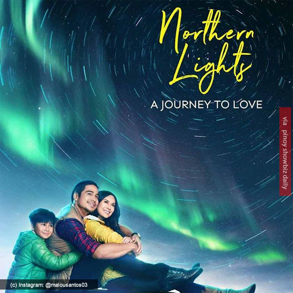 "Piolo Pascual and Yen Santos star in ""Northern Lights: A Journey To Love"""