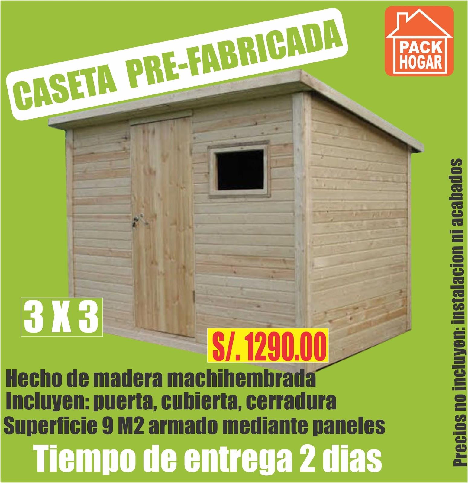 Casetas prefabricadas para obras en lima for Casas y casetas prefabricadas