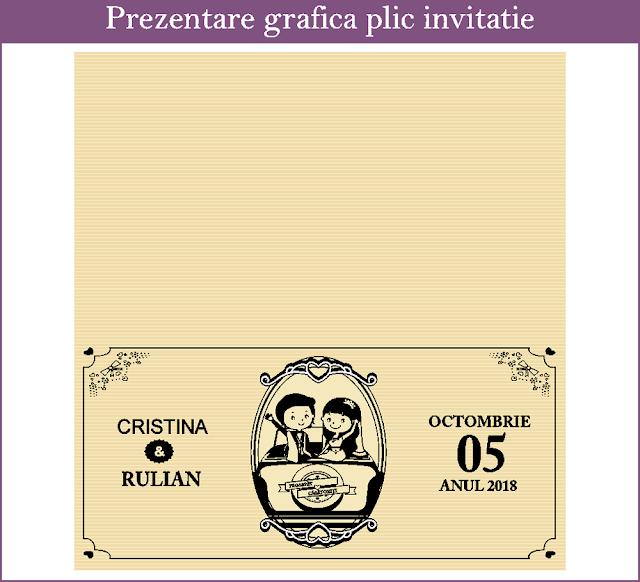 Invitatii Nunta Ticket