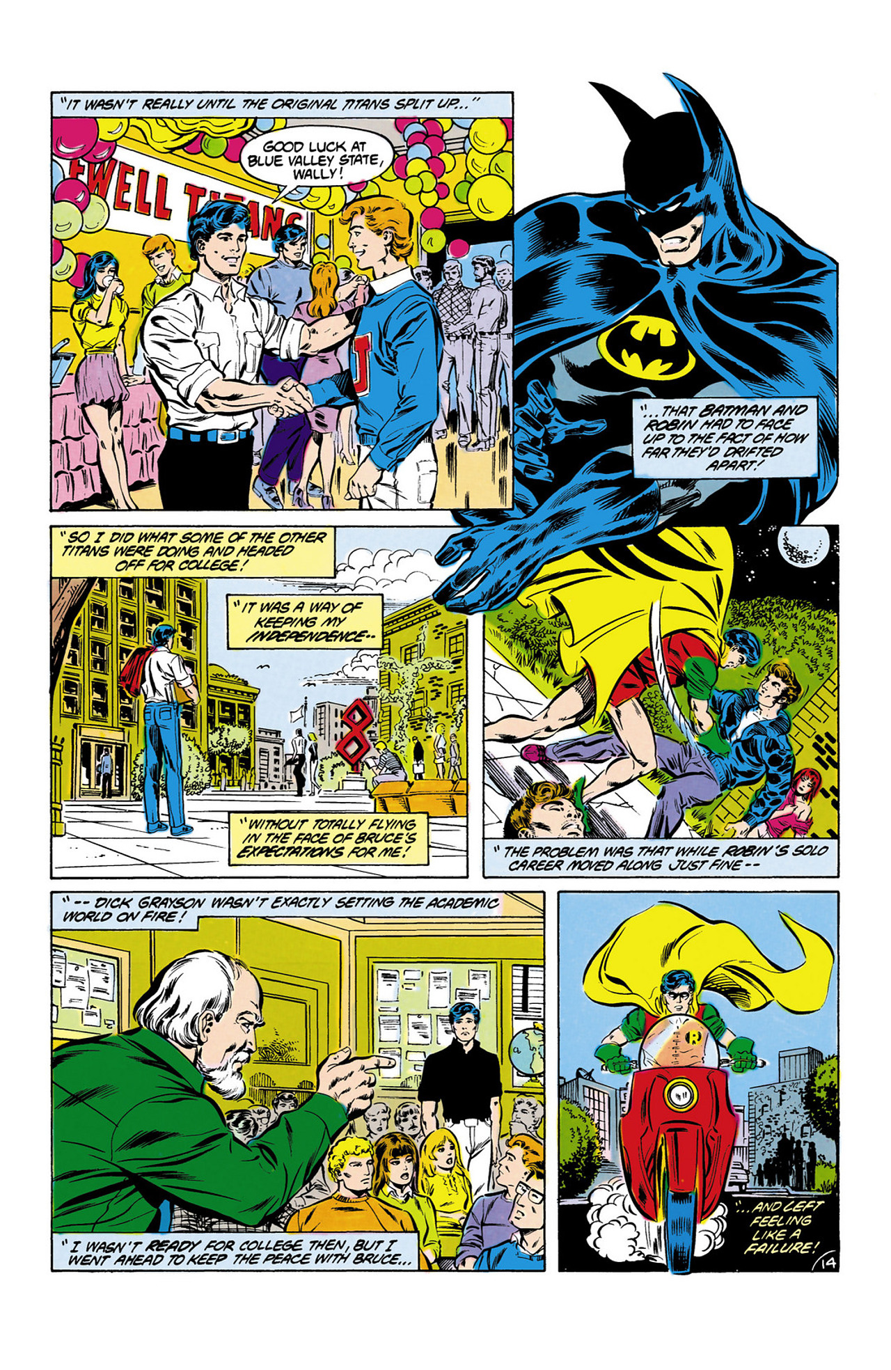 Read online Secret Origins (1986) comic -  Issue #13 - 15