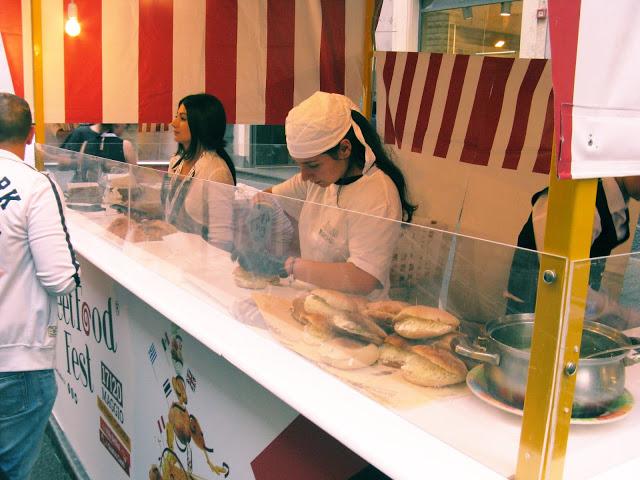 focaccia con la ricotta street food fest catania