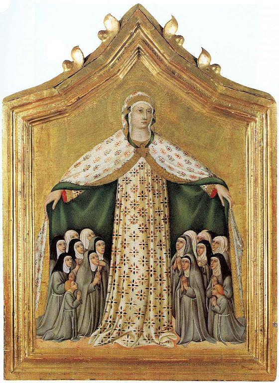 Madonna della Misericordia, Sano di Pietro (1406–1481)