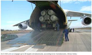 Russian anti-air defense zones