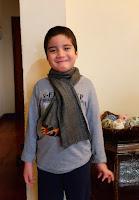 boy's scarf