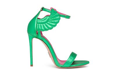 Oscar Tiye Spring Summer 2016 Malikah Emerald Green