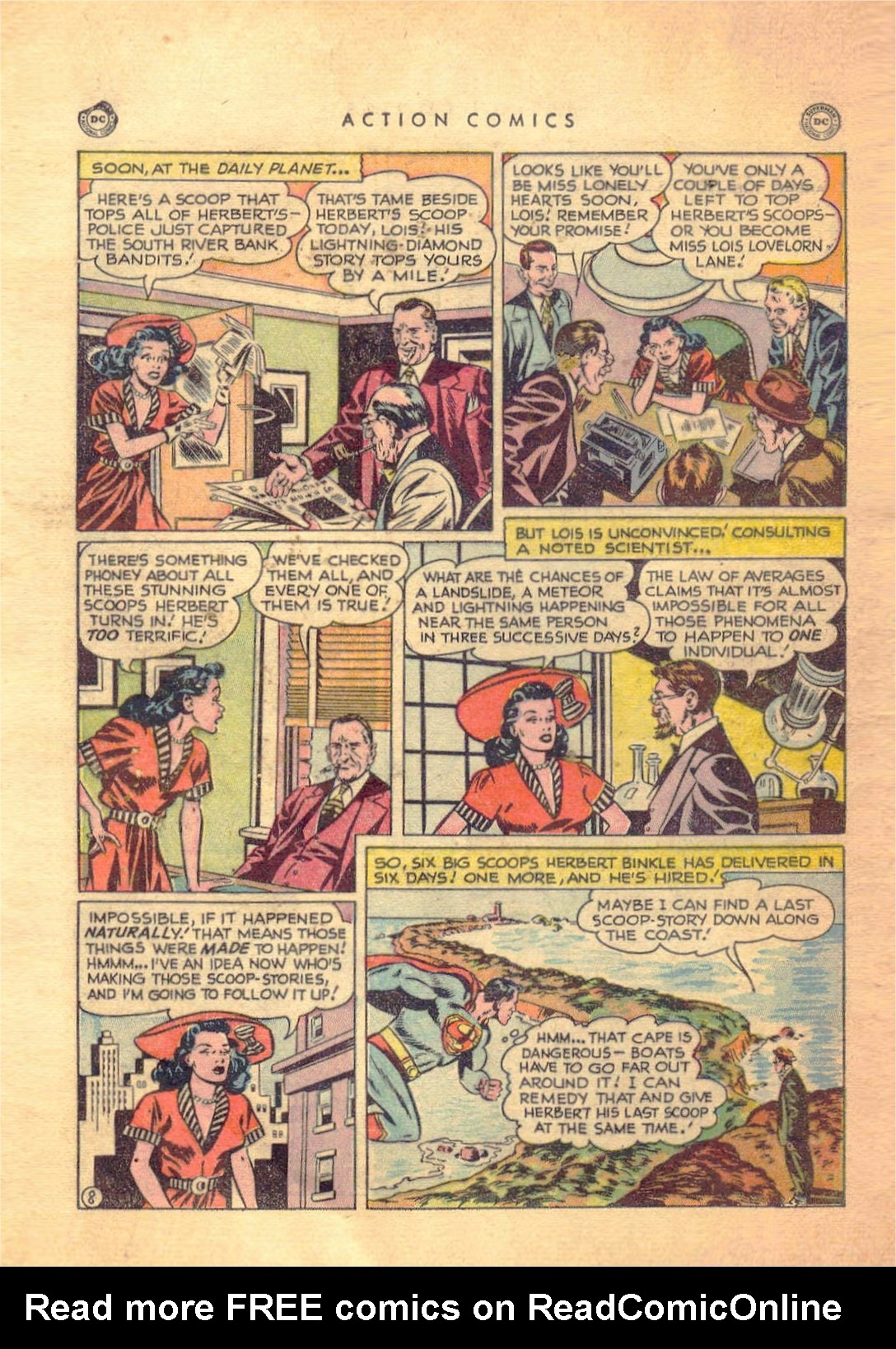 Read online Action Comics (1938) comic -  Issue #138 - 9