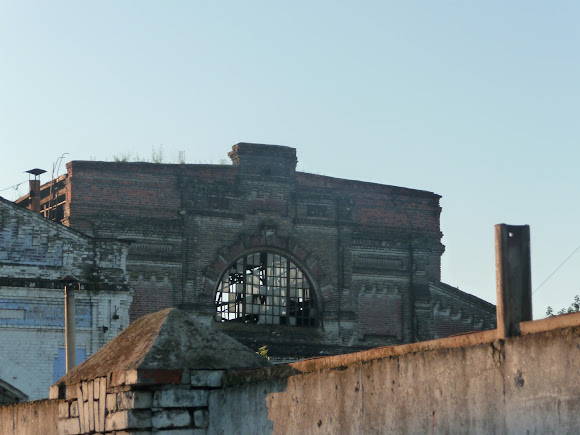 Конотоп. Покинуті будівлі КВРЗ