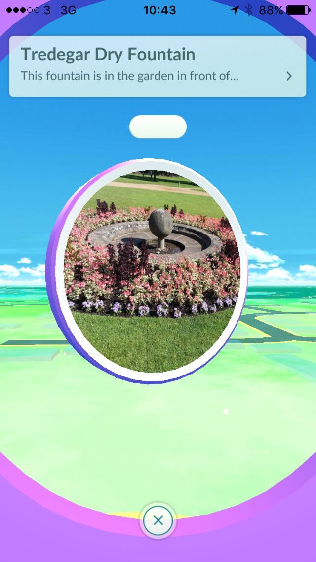 screenshot-of-pokestop-at-tredegar-house-dry-fountain
