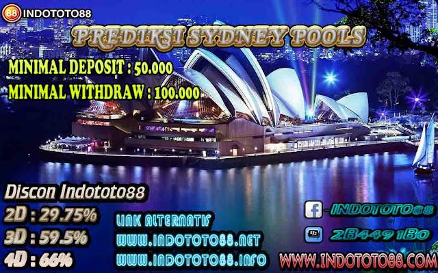Prediksi Togel Indototo88 Pasaran SYDNEY Untuk Hari Ini