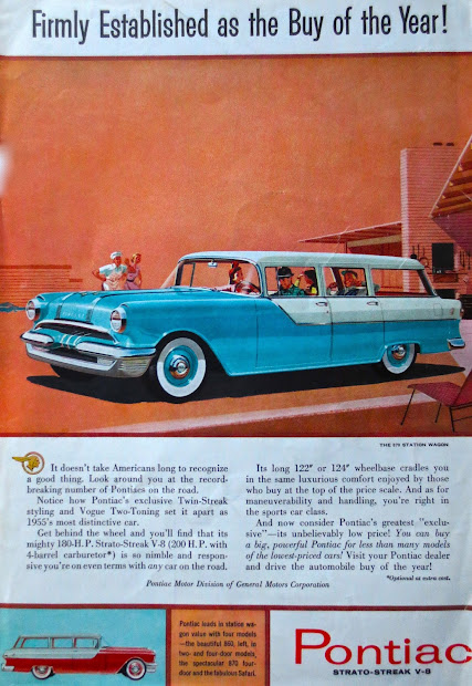 1950s 1960s Vintage Car Ads - Year of Clean Water