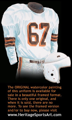 Cleveland Browns 1946 uniform